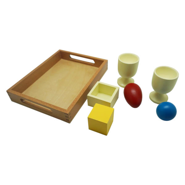 Montessori Premium 3D Object Fitting Exercise with Tray Image3
