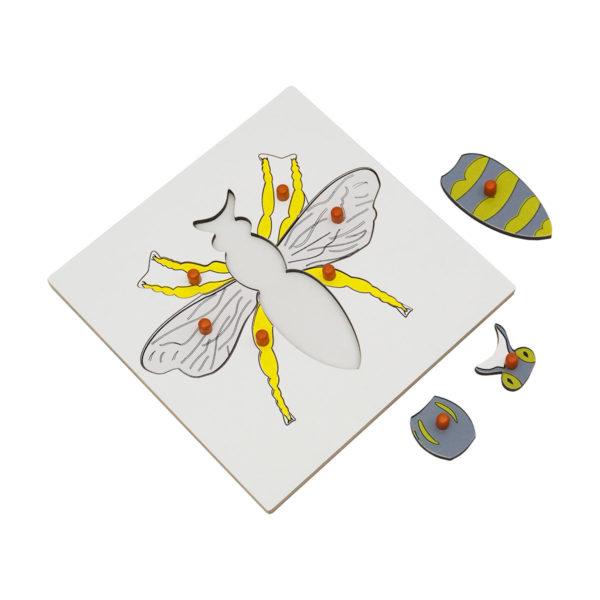 Montessori Premium Bee Puzzle Image2