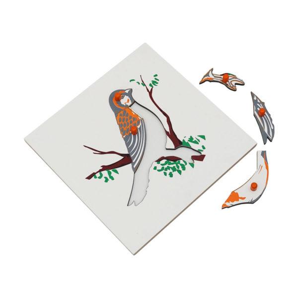 Montessori Premium Bird Puzzle Image2
