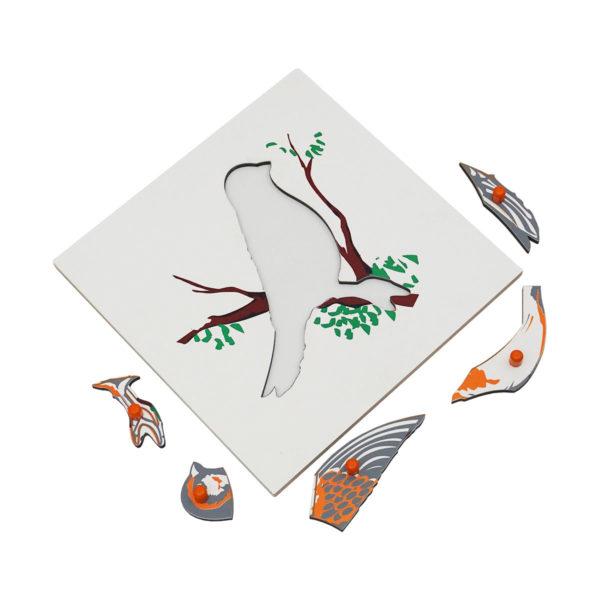 Montessori Premium Bird Puzzle Image3