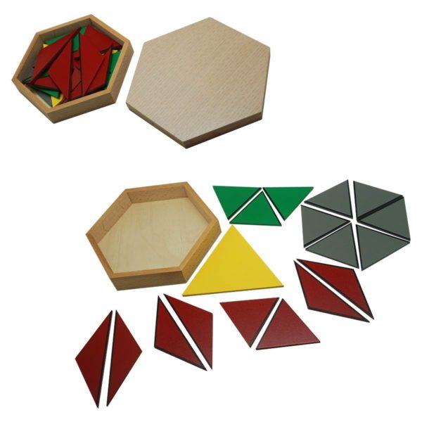 Montessori Premium Constructive Triangles Image2