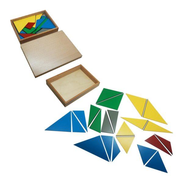 Montessori Premium Constructive Triangles Image4