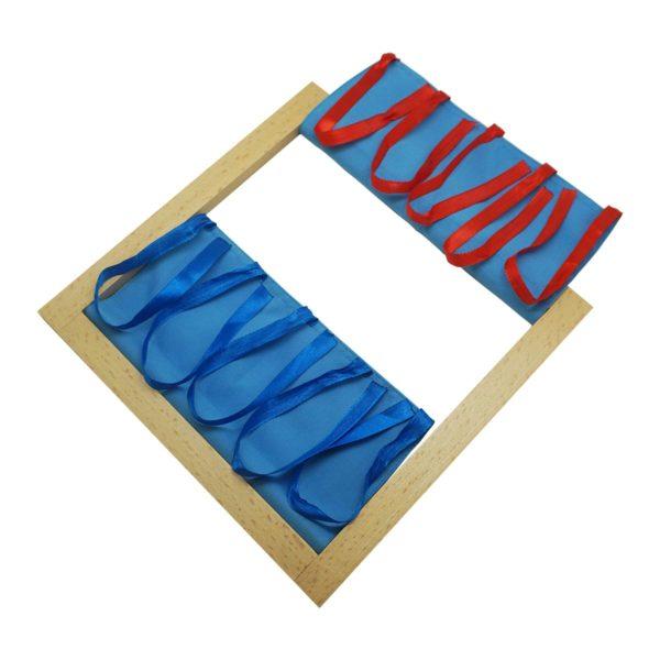 Montessori Premium Fastening Bow Tying Ribbons Image2
