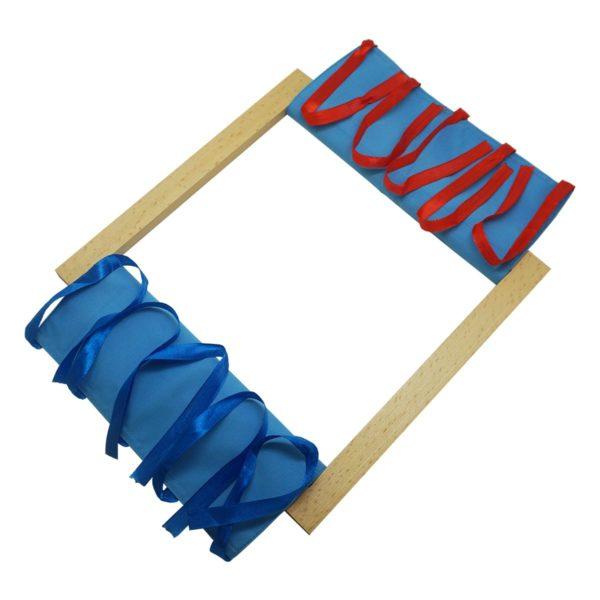 Montessori Premium Fastening Bow Tying Ribbons Image4