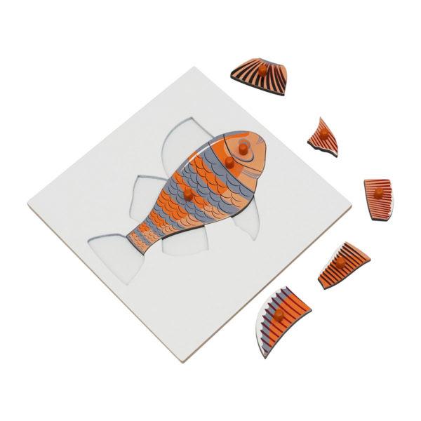 Montessori Premium Fish Puzzle Image2