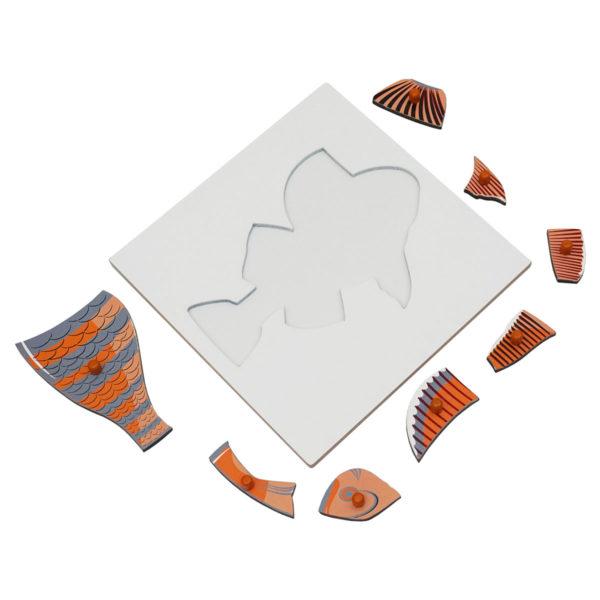 Montessori Premium Fish Puzzle Image3