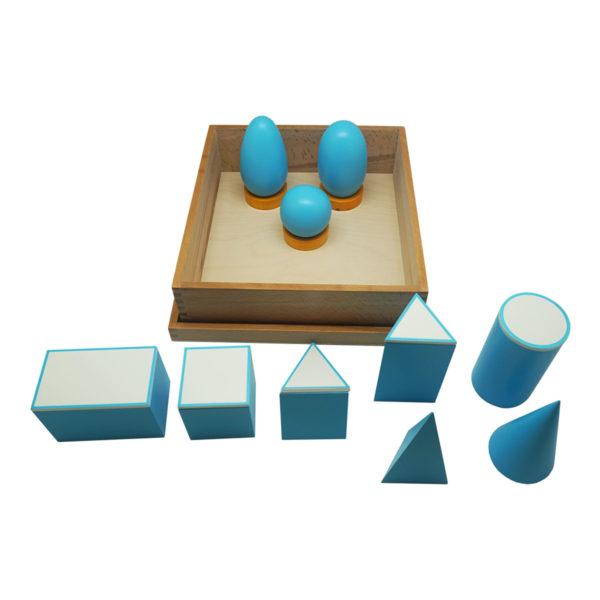 Montessori Premium Geometrical Solids Image2