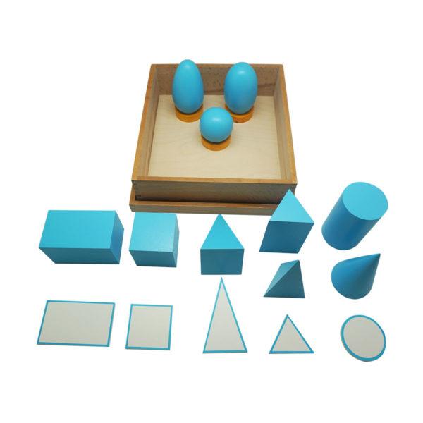 Montessori Premium Geometrical Solids Image3