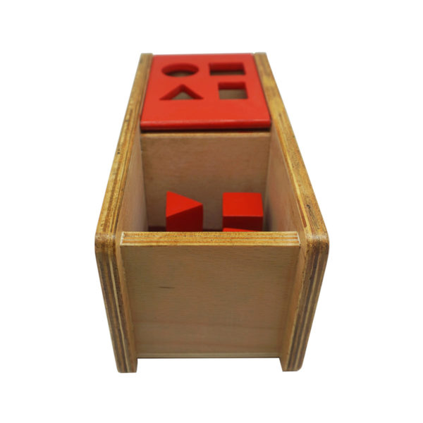 Montessori Premium Imbucare Box with Flip Lid - 4 Shapes Image3