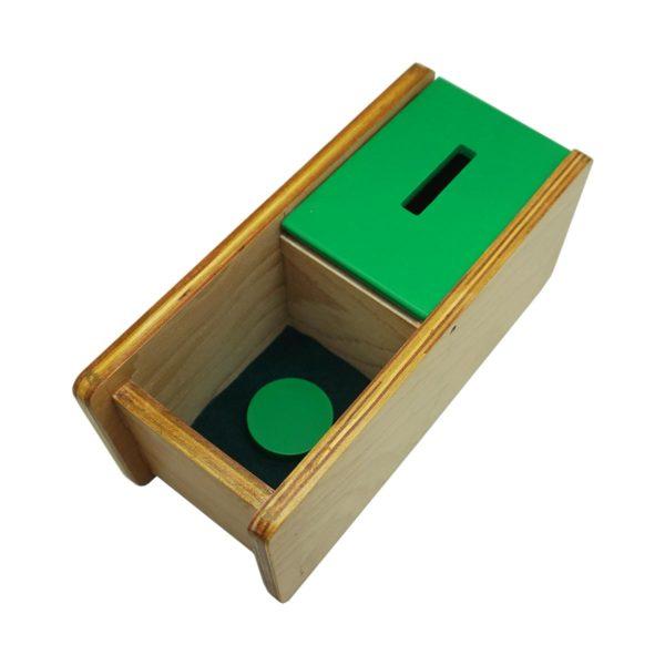 Montessori Premium Imbucare Box with Flip Lid Single Slot Image2