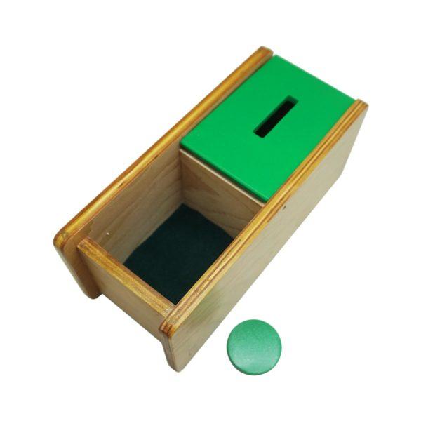 Montessori Premium Imbucare Box with Flip Lid Single Slot Image3