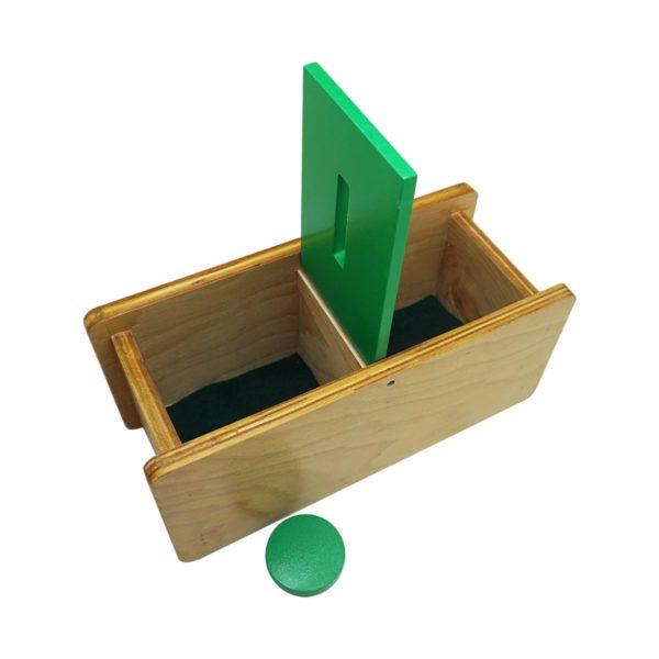 Montessori Premium Imbucare Box with Flip Lid Single Slot Image4