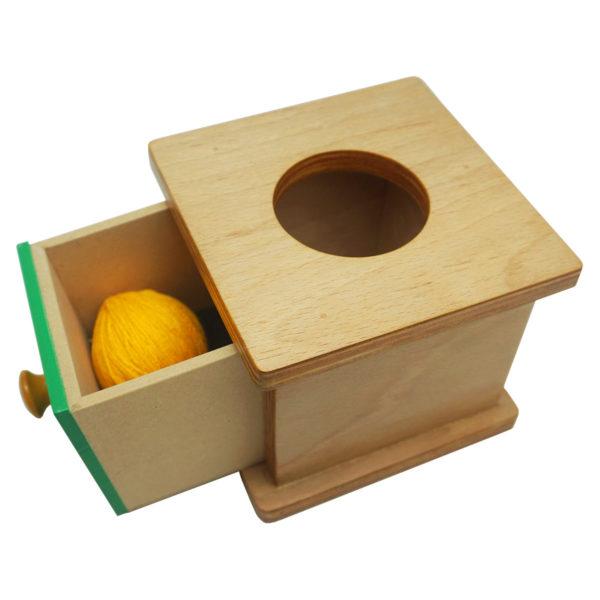 Montessori Premium Imbucare Box with Knitting Ball Image2