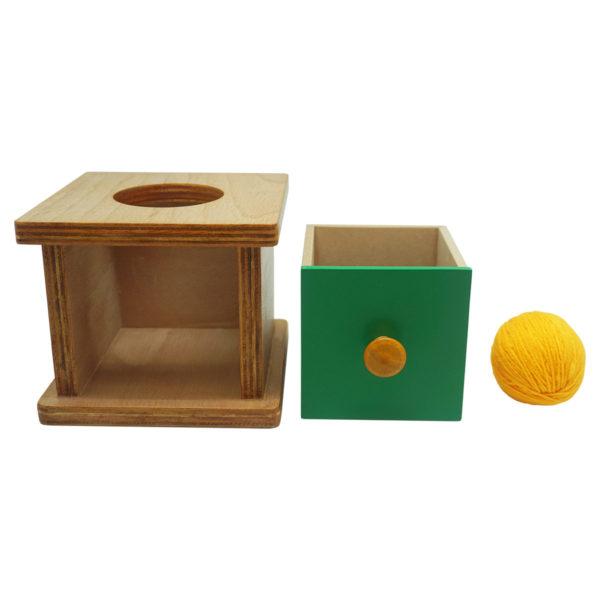 Montessori Premium Imbucare Box with Knitting Ball Image3