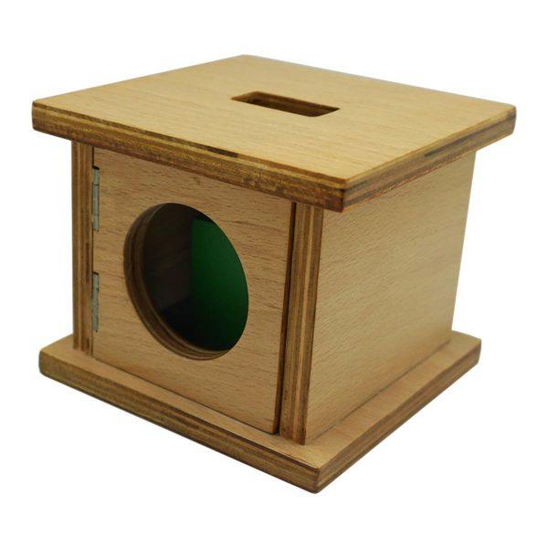 Montessori Premium Infant Imbucare Box with Rectangular Prism Image2