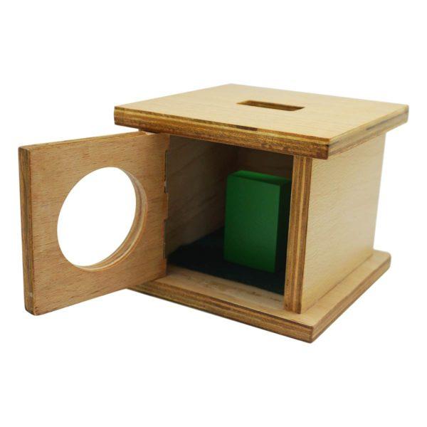 Montessori Premium Infant Imbucare Box with Rectangular Prism Image3