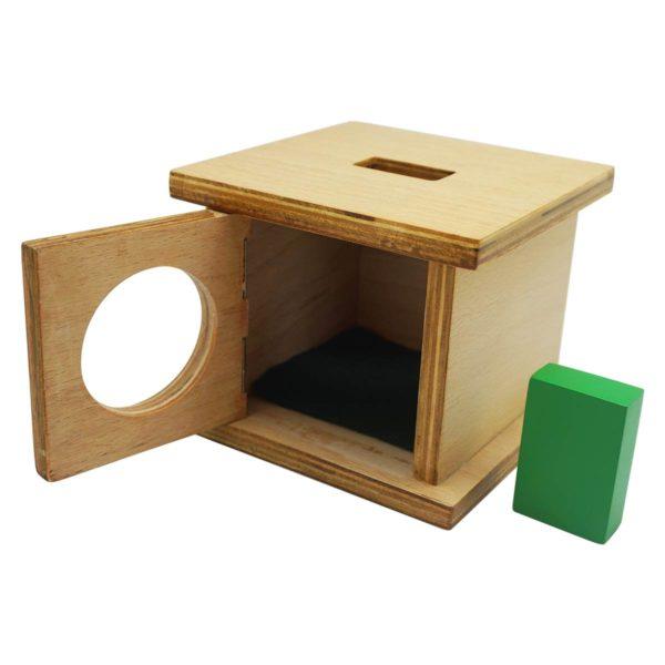 Montessori Premium Infant Imbucare Box with Rectangular Prism Image4
