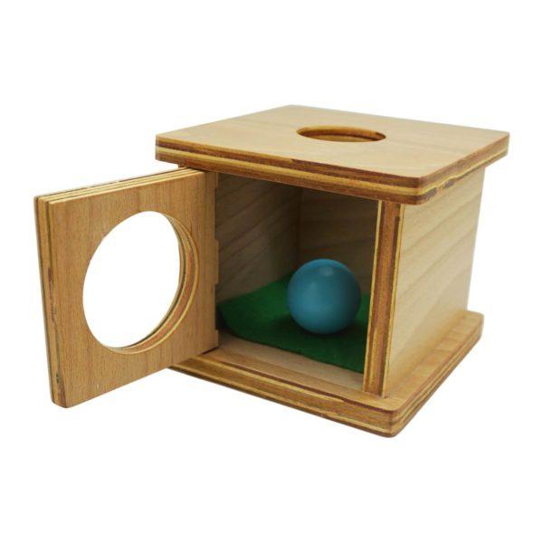 Montessori Premium Infant Imbucare Box with Sphere Image3