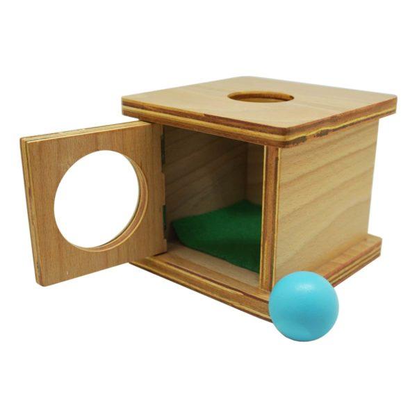 Montessori Premium Infant Imbucare Box with Sphere Image4