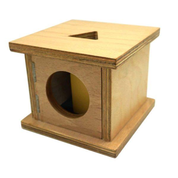 Montessori Premium Infant Imbucare Box with Triangular Prism Image2
