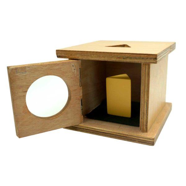 Montessori Premium Infant Imbucare Box with Triangular Prism Image3