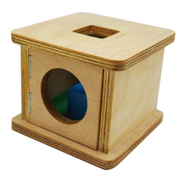 Montessori Premium Infant Imbucare Box with Cube Image2
