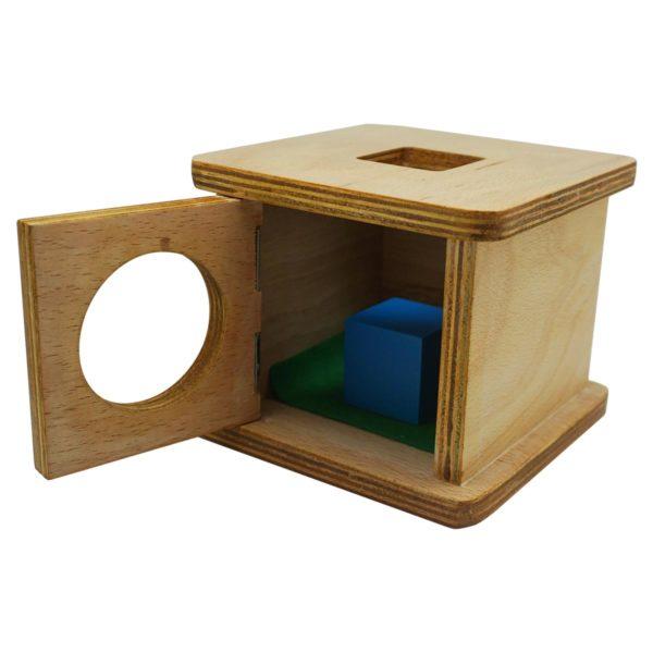 Montessori Premium Infant Imbucare Box with Cube Image3