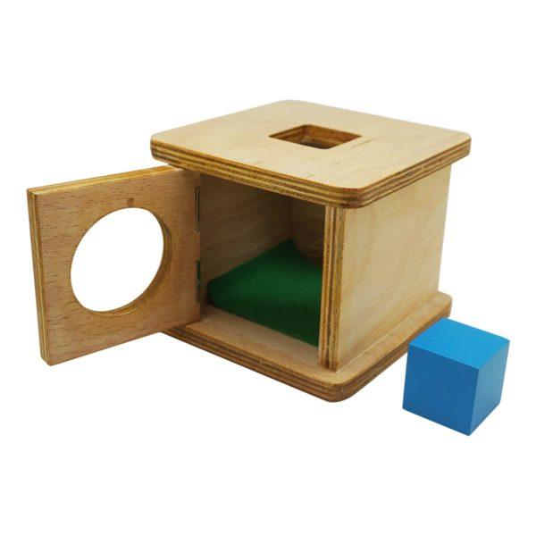 Montessori Premium Infant Imbucare Box with Cube Image4