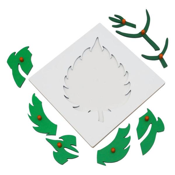 Montessori Premium Leaf Puzzle Image3