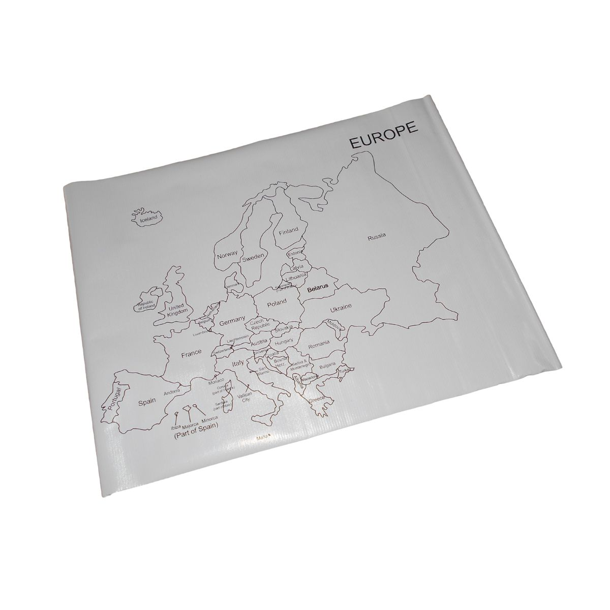 Control Map   Europe Labelled | Premium Montessori Materials And Montessori  Furniture India