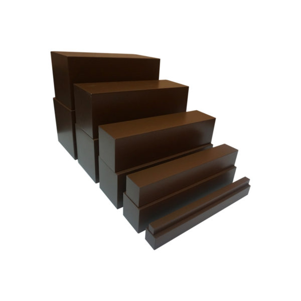 Montessori Premium Brown Stairs Painted Image3
