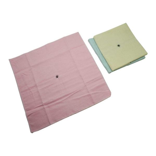 Montessori Premium Napkins for Folding (12) and Dusters (3) Image5