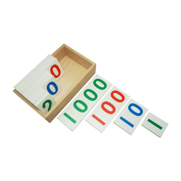 Montessori Premium Number Cards 1 to 1000 Image2