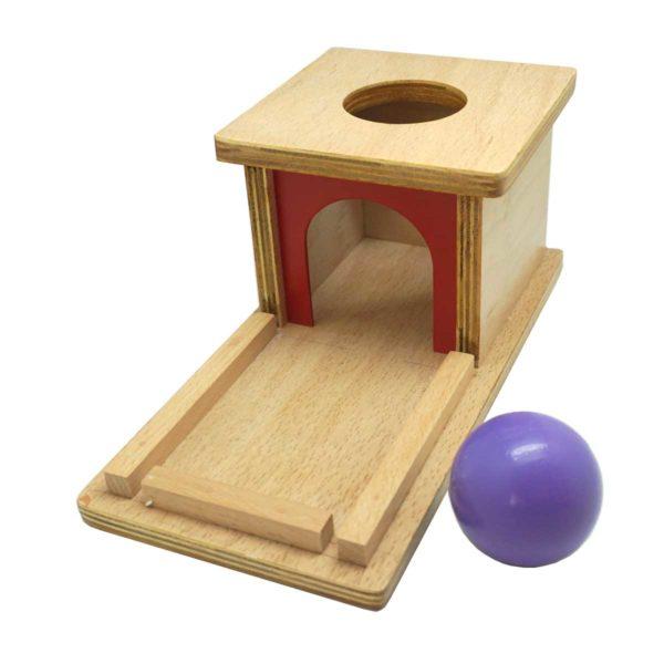 Montessori Premium Object Permanence Box with Tray Image2