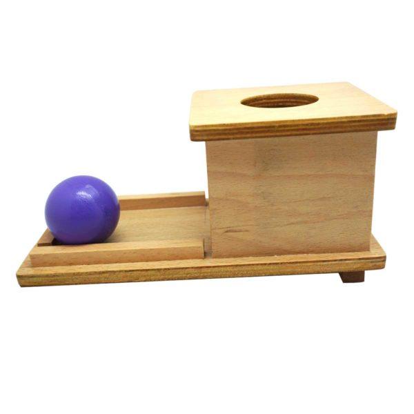 Montessori Premium Object Permanence Box with Tray Image3