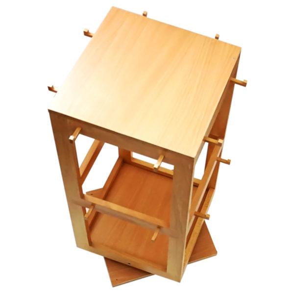 Montessori Premium Revolving Stand: 8 Button Frames Image3