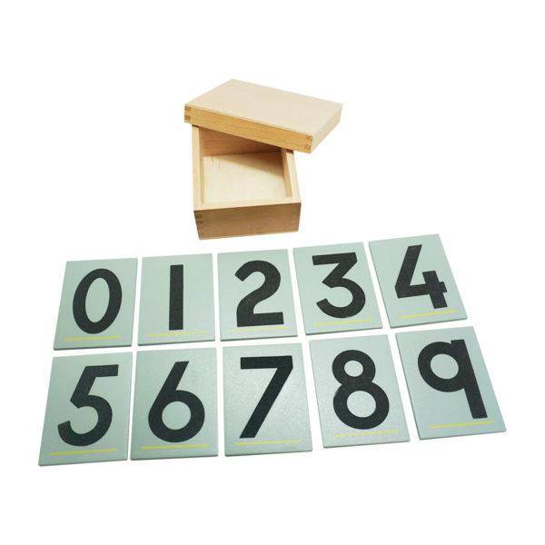 Montessori Premium Sandpaper Numbers Image3
