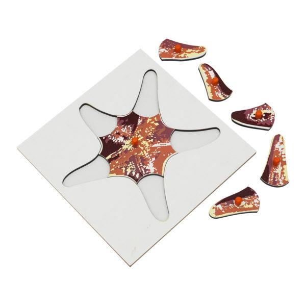 Montessori Premium Starfish Puzzle Image2