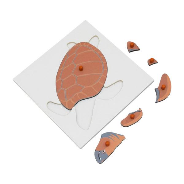 Montessori Premium Tortoise Puzzle Image2