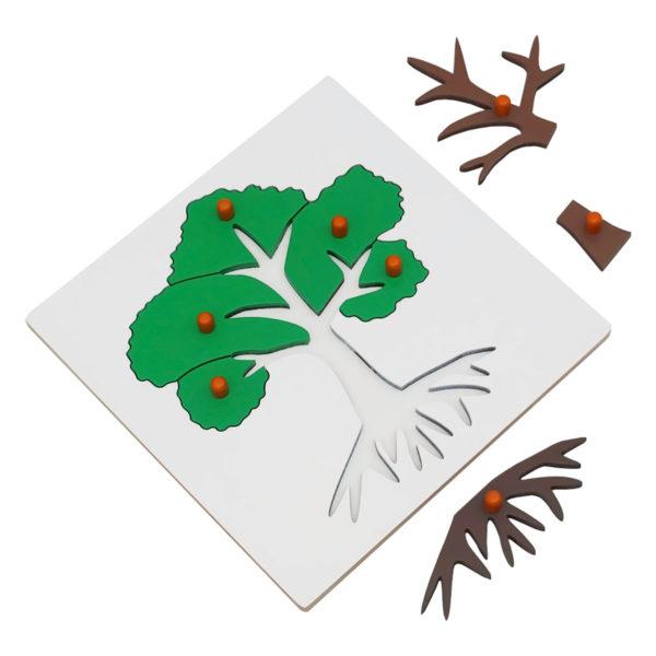 Montessori Premium Tree Puzzle Image2