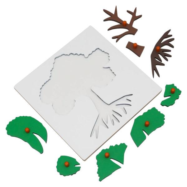 Montessori Premium Tree Puzzle Image3